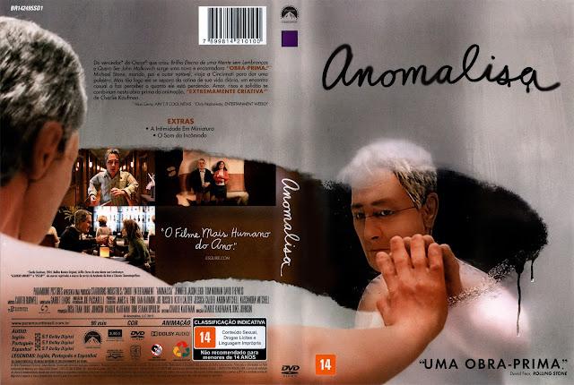 Capa DVD Anomalisa