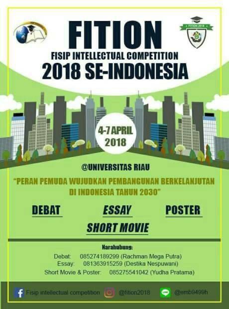 Lomba Debat Bahasa Indonesia Nasional 2018 Di Universitas Riau