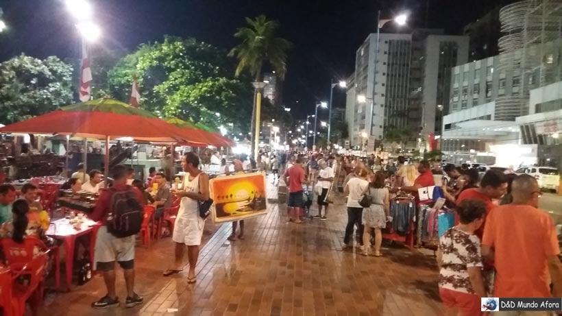 Praia do Meireles - O que fazer em Fortaleza, Ceará