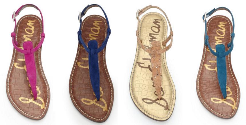 Sam Edelman: Gigi Thong Sandals only $38 (reg $75) + Free Shipping!