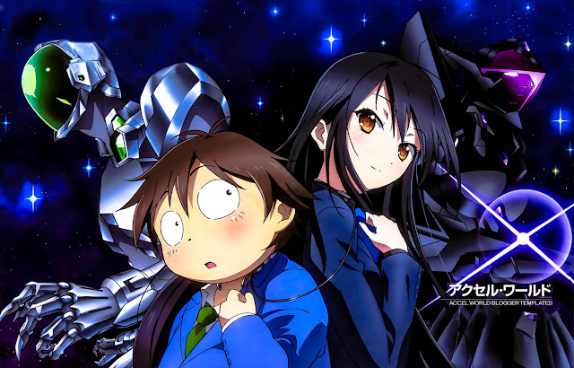 Accel World Subtitle Indonesia & English