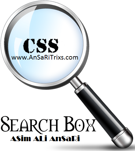 How to Add Search Box With CSS Style on Blogger