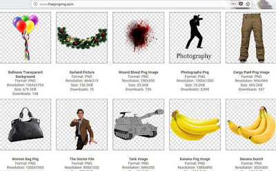 5 wonderful PNG images free sites for your designs