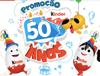 Promoção Kinder 50 Anos