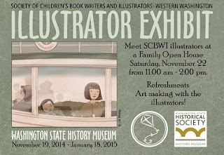 SCBWI Illustrator Exhibit