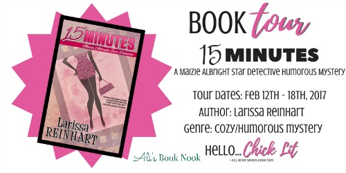 15 minutes book tour review