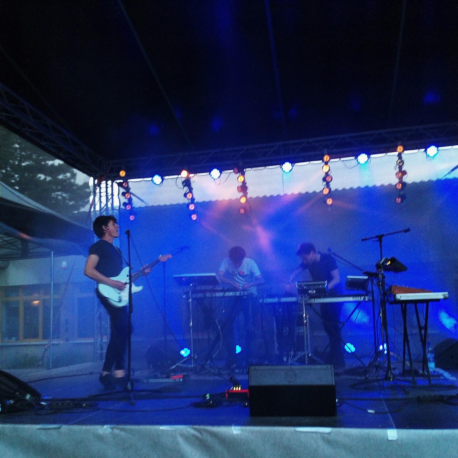 Koncert KAMP! na festivalu Wonderpark v Brně