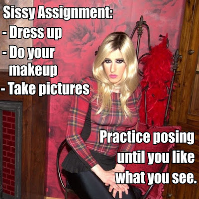 Sissy Assignment TG Caption - TG Captions and more - Crossdressing and Sissy Tales and Captioned images