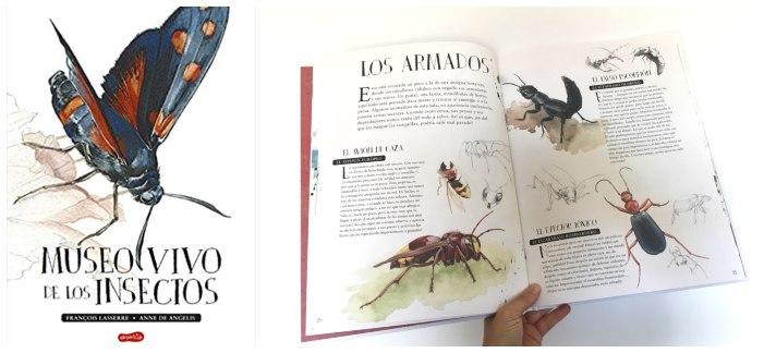 cuentos libros lecturas recomendadas verano 2018 Museo vivo insectos