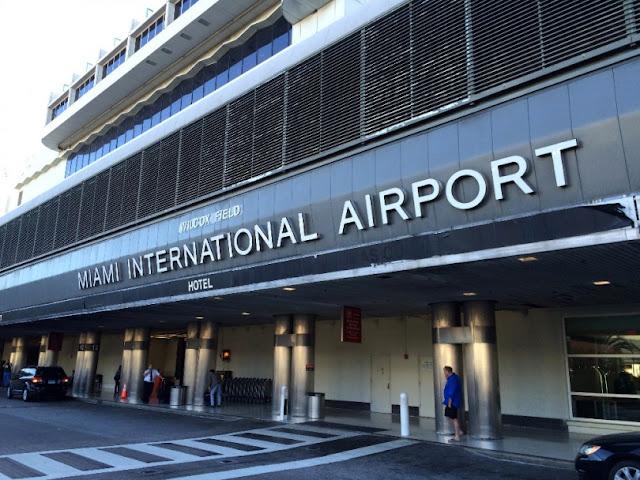 Do aeroporto de Miami até o centro turístico