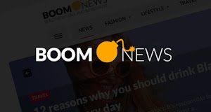 Boom News is fast, simple and easy to use
