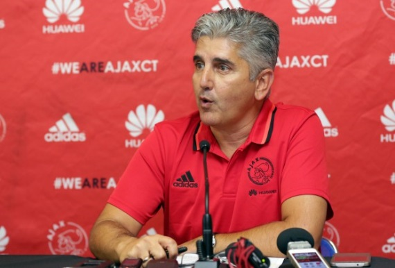 Ajax Cape Town chief executive Ari Efstathiou
