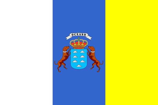 Bandera de las Islas Canarias
