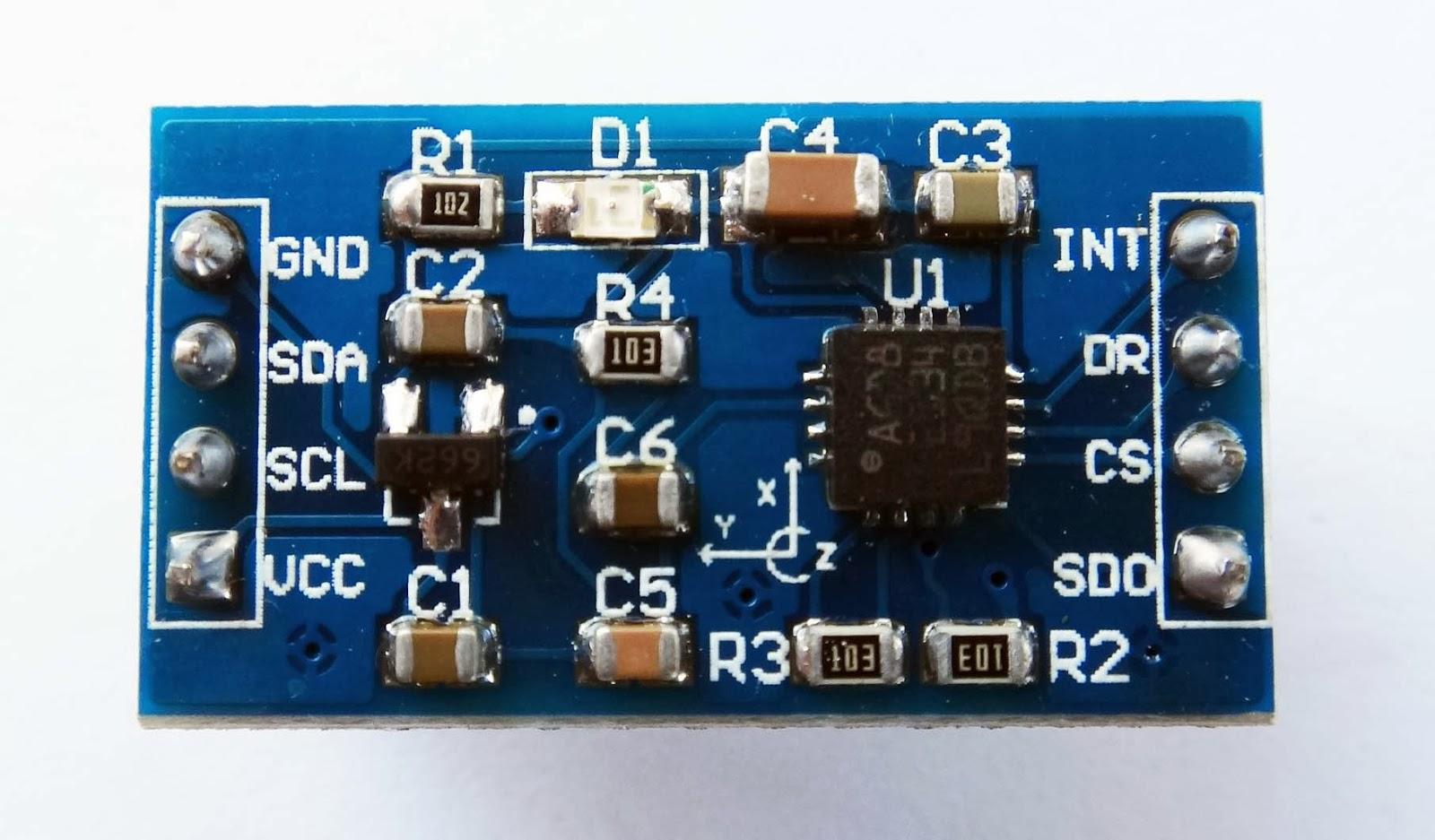 Myanmar Electronic Store 3 Axis Accelerometer Using Pic16f887 Triple Gyroscope Low Power L3g4200d Selectable Full Scales 250 500 2000 Dps I2c Spi Digital Output Interface