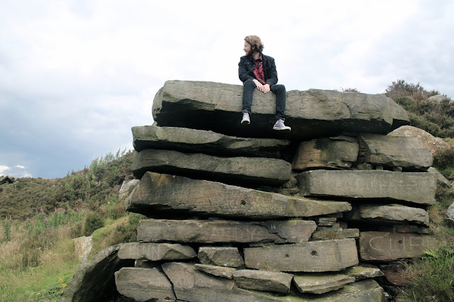 Climbing to dangerous heights in Yorkshire