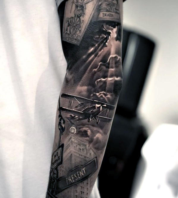 80 Cool 3 Dimensional 3d Tattoos Designs Images Ideas