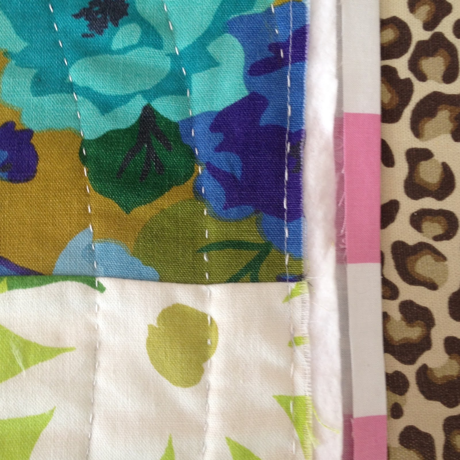 Nifty Quilts: Back To Front Binding Tutorial