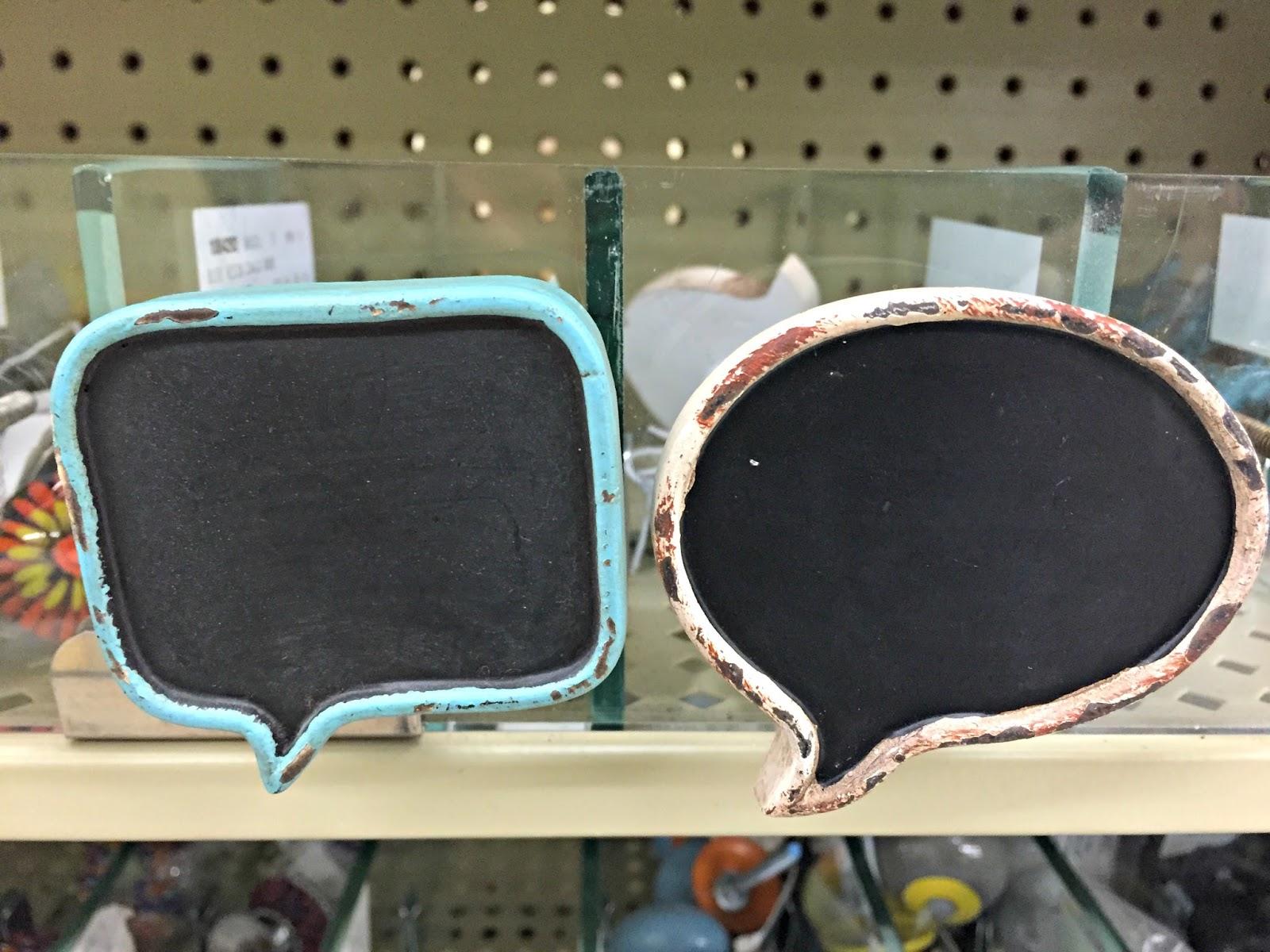 Chalkboard drawer pulls