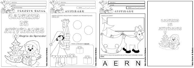 Caderno de Atividades Alegria de Aprender Projeto Natal