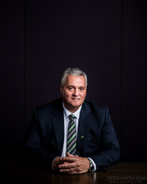Corporate photograph of Cornel Fourie by Siddharth Siva, Dubai photographer