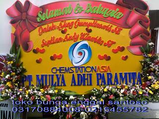 bunga papan pernikahan