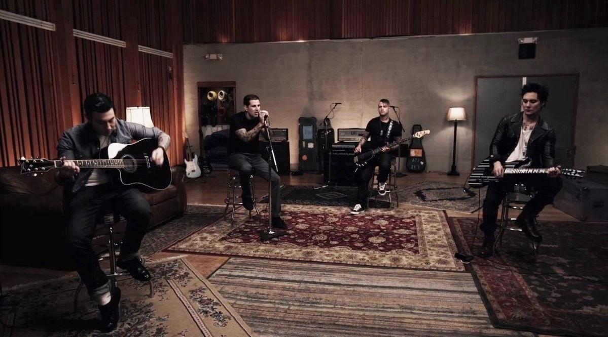 Avenged Sevenfold So Far Away Guitar Chords Lyrics Kunci Gitar