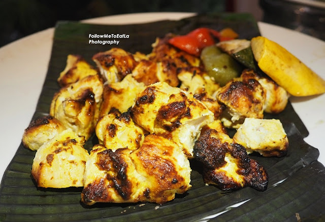 Shish Tawouk (Charcoal Grilled Chicken Cubes)