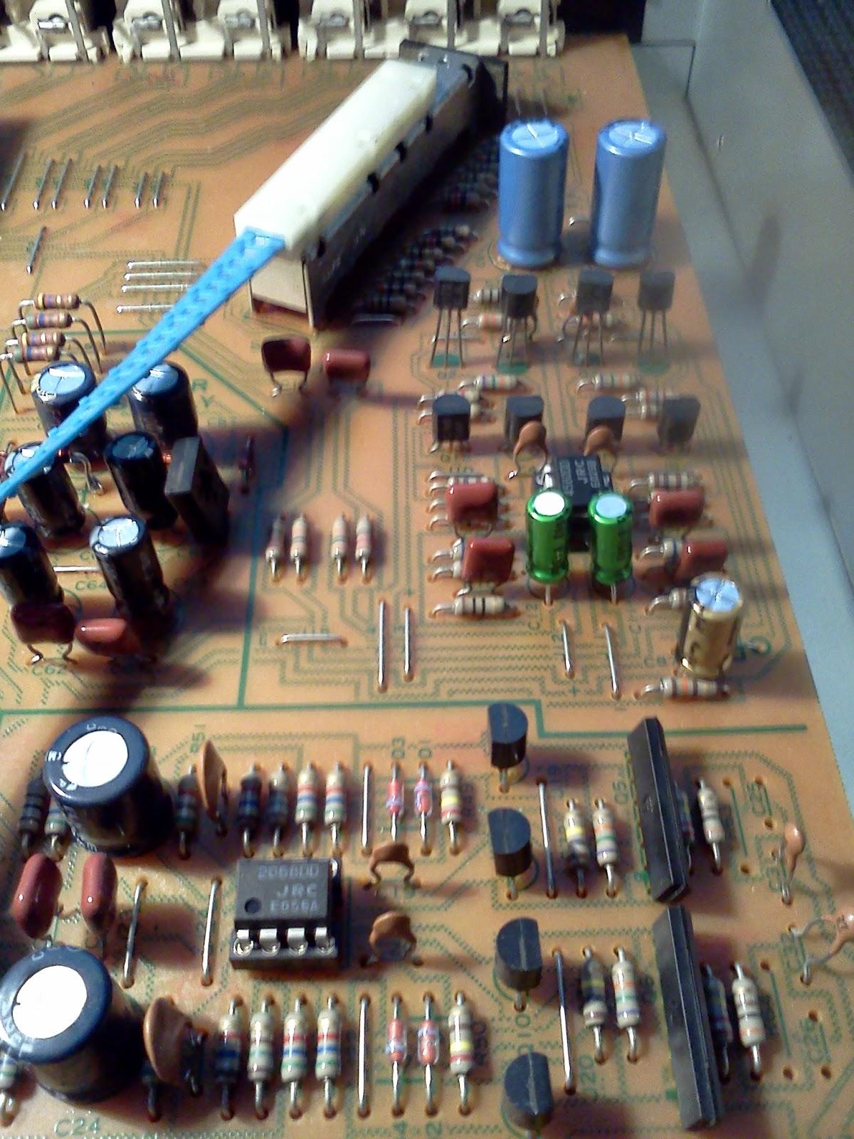 vintage hi fi audio restorations kenwood c2 pre amplifier upgrade. Black Bedroom Furniture Sets. Home Design Ideas