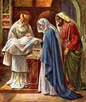 Apresentação de Jesus no Templo e Purificação de Maria Santíssima