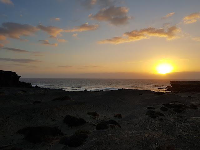 Tramonto a La Pared-Fuerteventura