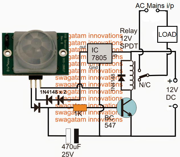 object is detected by the sensor, it produces a small signal voltage(usually 3.3 volts)