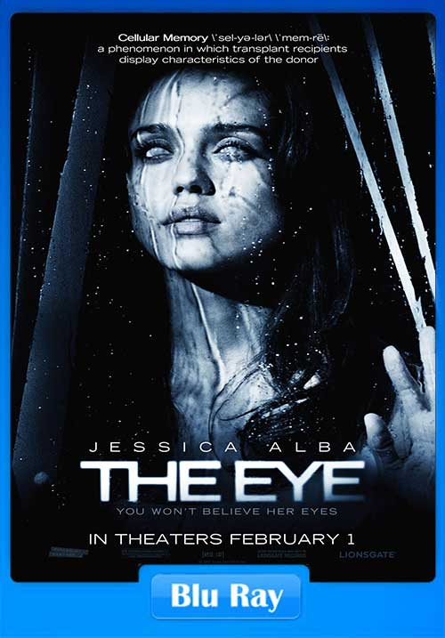 The Eye 2007 300MB Movie Download BRRip 480p x264 Poster
