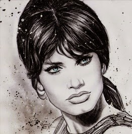Marisa Mell-Art by Patricio Carbajal