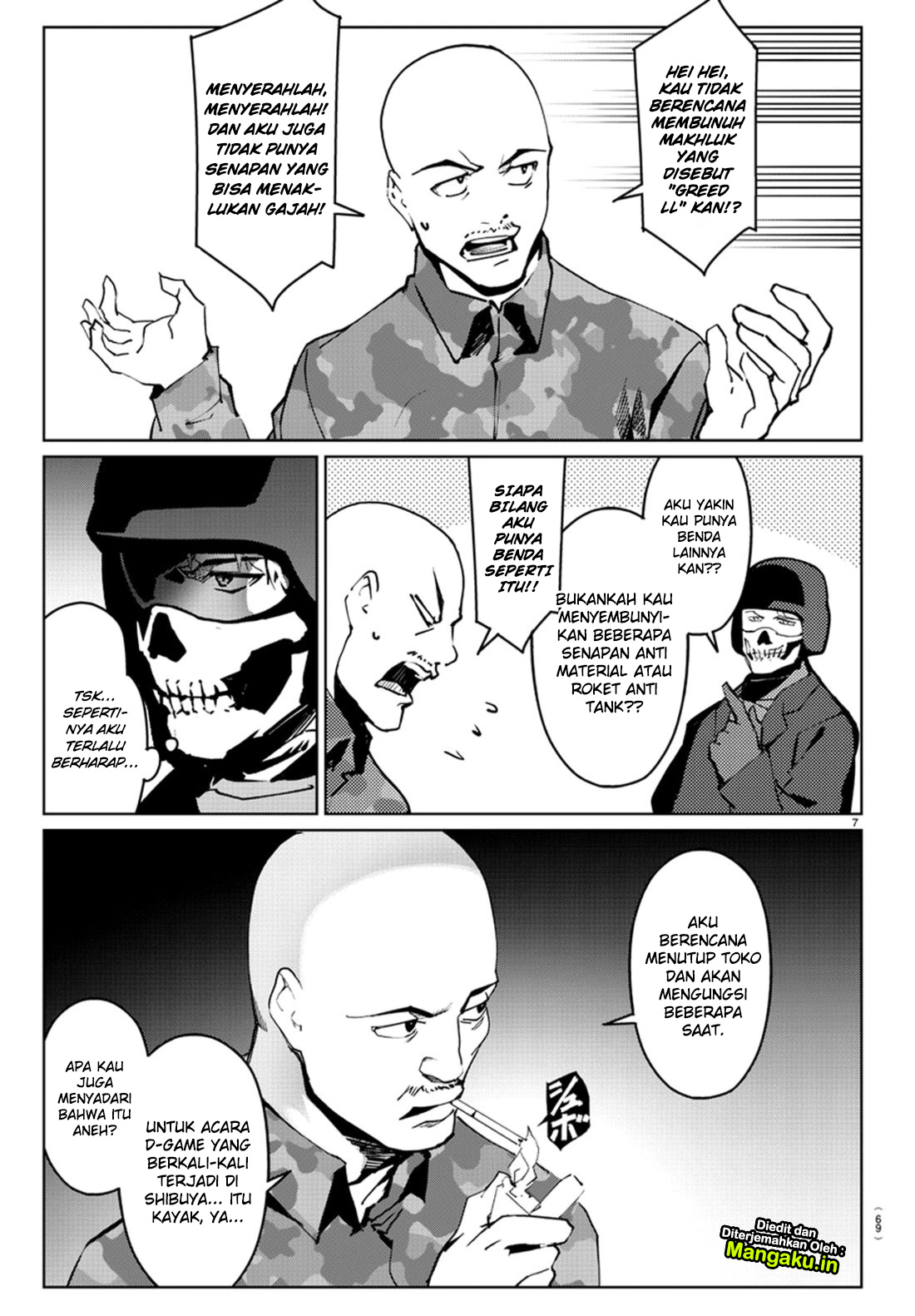 Darwin's Game Chapter 71-9