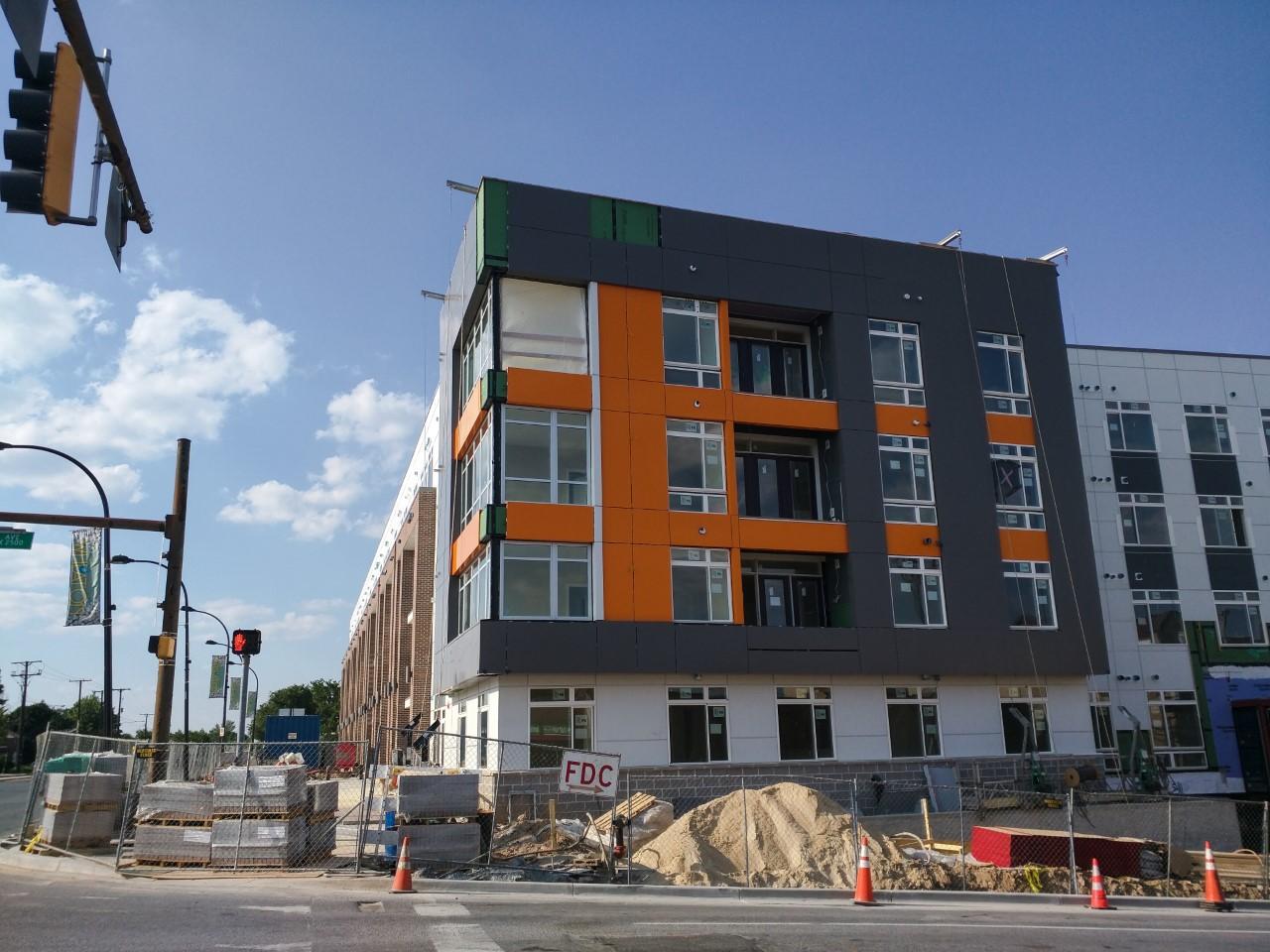 East MoCo: Wheaton construction update: AVA Wheaton apartments (Photos)