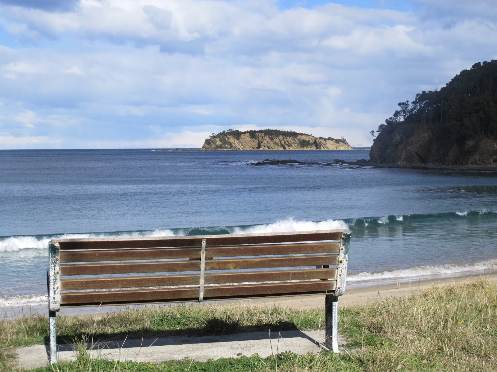 Rosedale And Beyond Eurobodalla Daily Photo The Bench