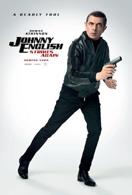 Johnny English Strikes Again Movie Poster 8