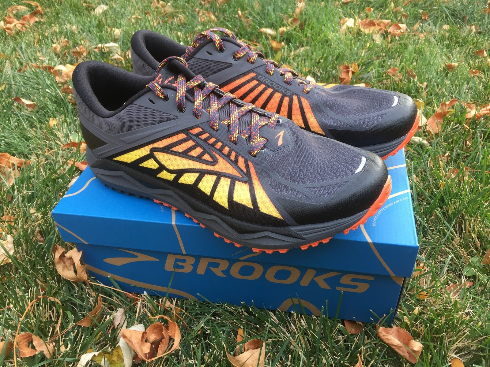 f661b82b69988 (10 1/4 for my size 10) fills a long overdue niche in the Brooks trail shoe  line, a shoe that is lighter, more flexible and more ...