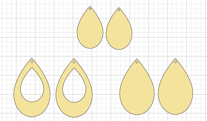 Fields Of Heather: Free svgs for Faux Leather Earrings