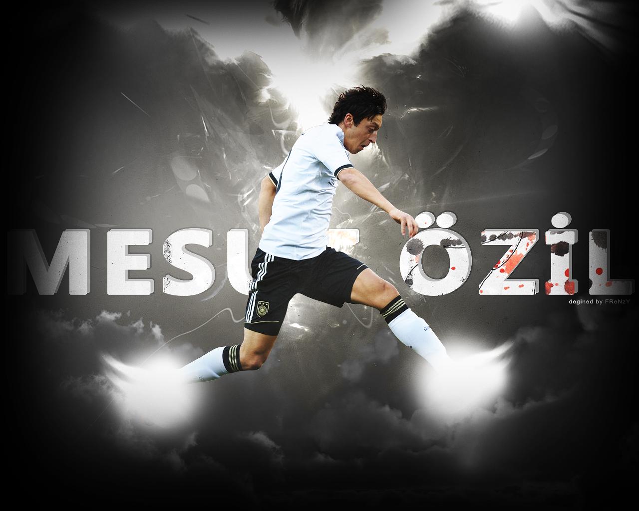 World Sports Hd Wallpapers: Real Madrid Mesut Ozil Hd