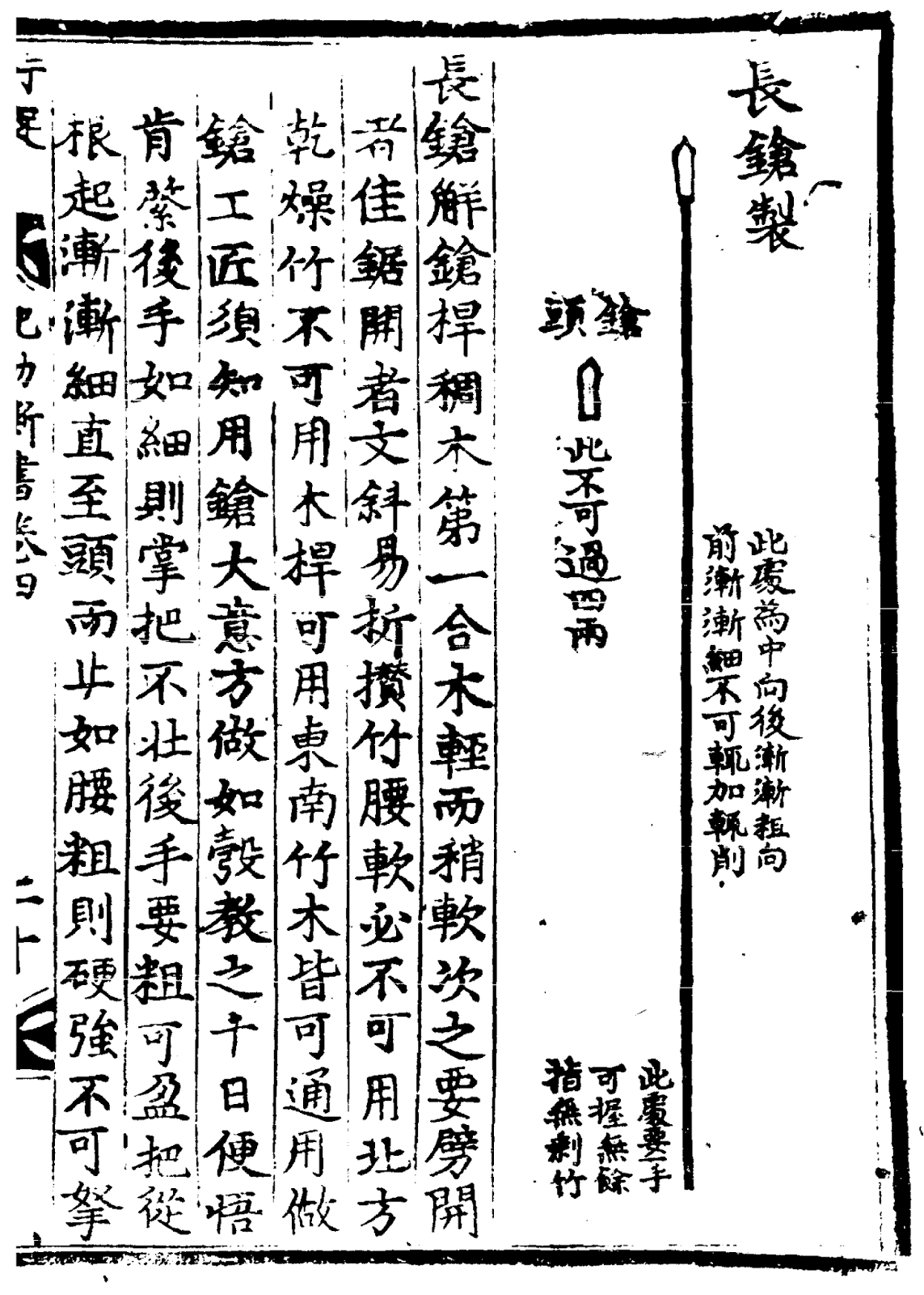 Ming Dynasty Chang Qiang