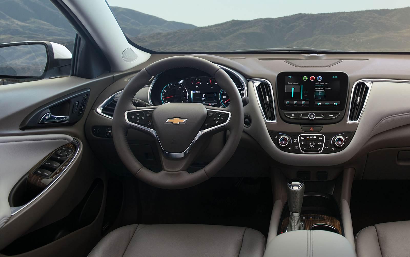 Chevrolet Malibu 2017 - Interior