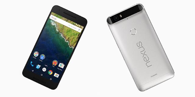 Nexus 6P Ponsel Android Marshmallow dengan Layar 5.7 Inci