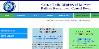 RRB ALP Revised Result 2018 declared - Download result PDF Now