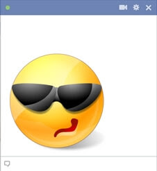 Cool Smiley With Sunglasses