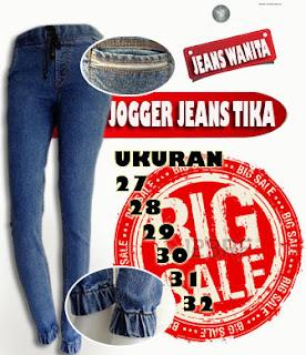 Jogger jeans strech terbaru