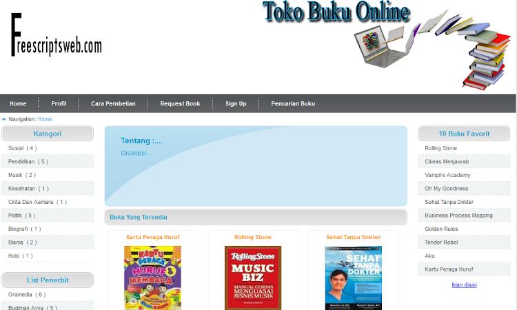 Script Toko Online Gratis