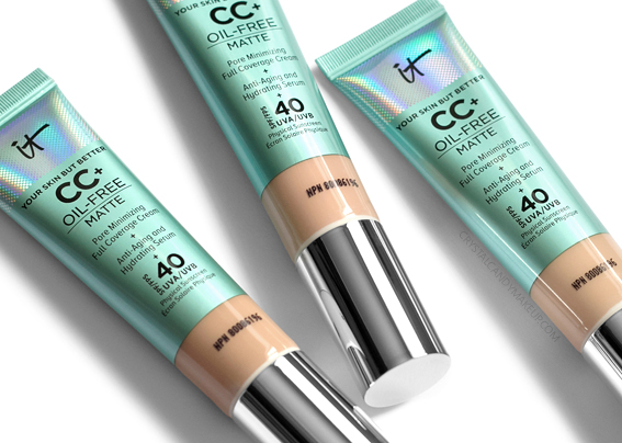CC Crème Sans Huile Finition Mate Your Skin But Better It Cosmetics Avis Revue