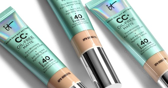 IT Cosmetics CC+ Cream swatches