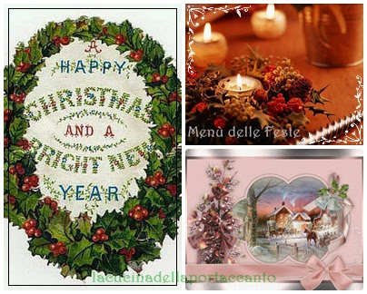 Menu delle Feste, da preparare in anticipo / The Christmas menu, to prepare in advance